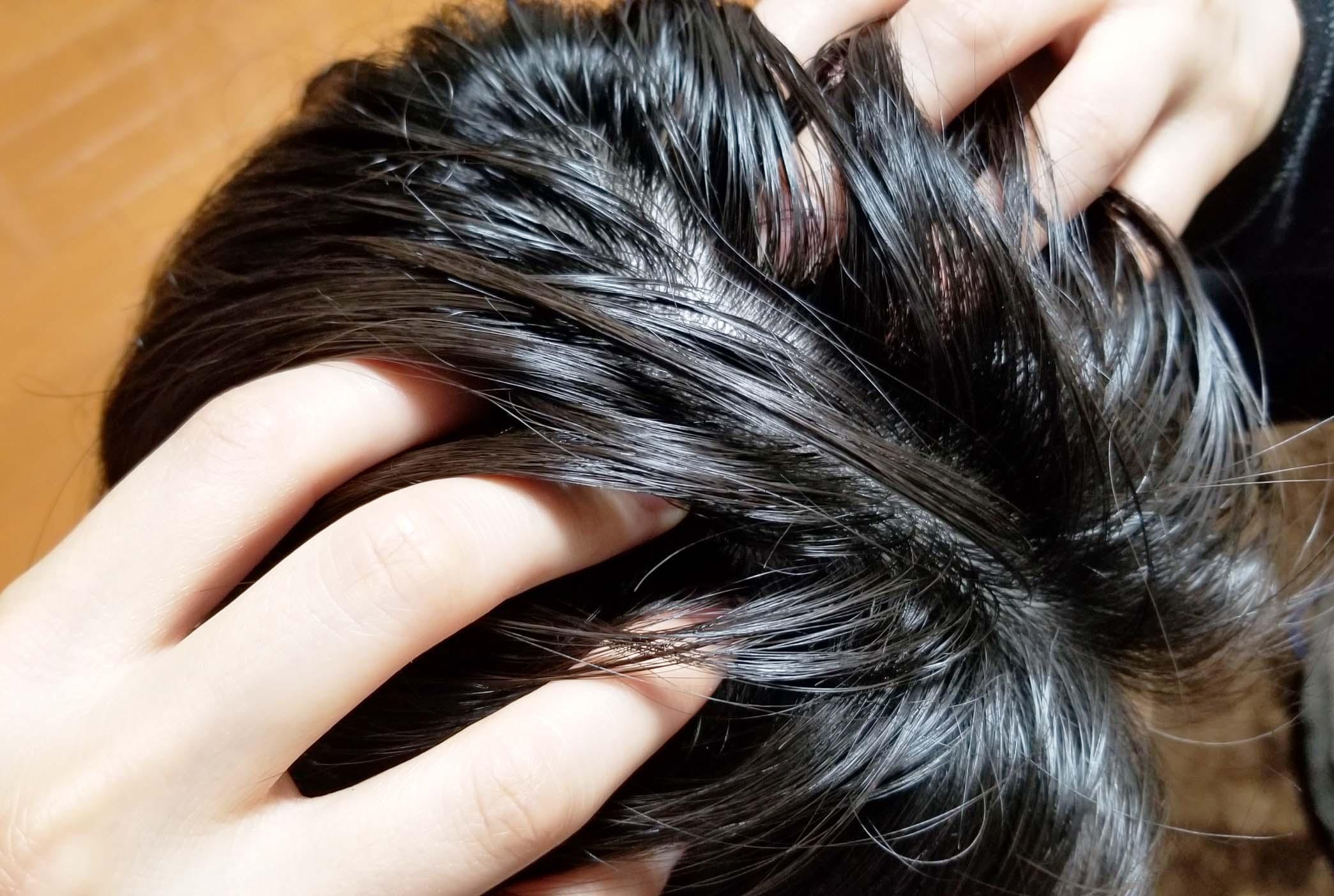 育毛ツボマッサージ