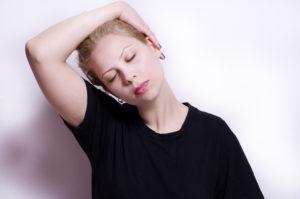 薄毛の原因肩こり解消ストレッチ5